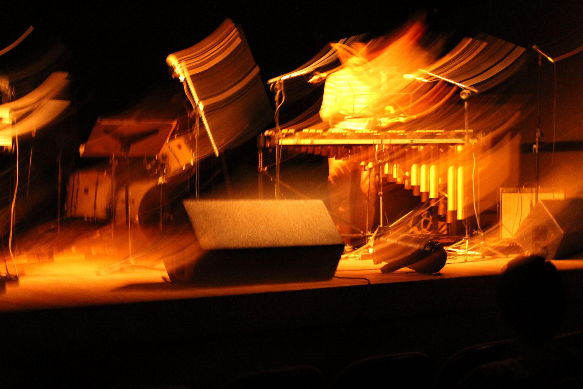 La réception musicale en mouvement. ©Andrea Borges